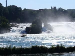 Wodospady na Renie