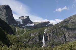 Norwegia Wodospady