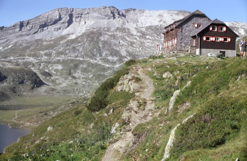 Schroniska Alpy Austria