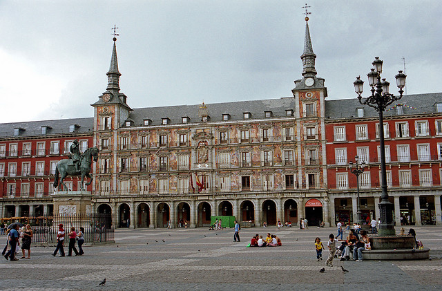 Madryt Plaza Mayor