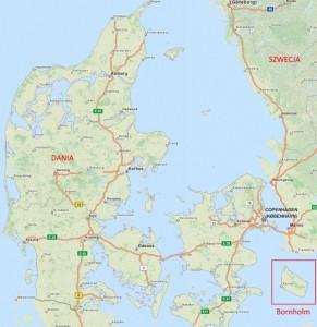 Dania Mapa